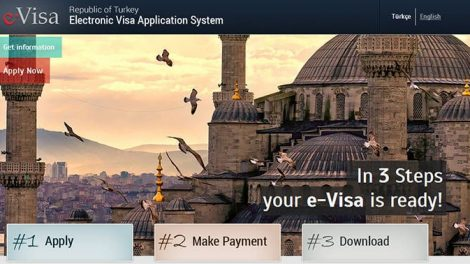 turkey e-electronic visa