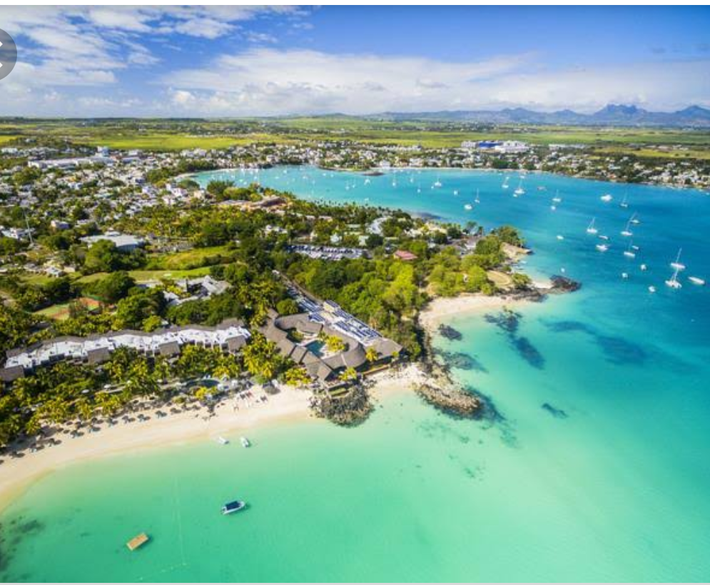 Mauritius. Honeymoon destinations in the world